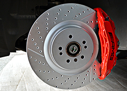 奔驰GLE450 包围轮毂 刹车